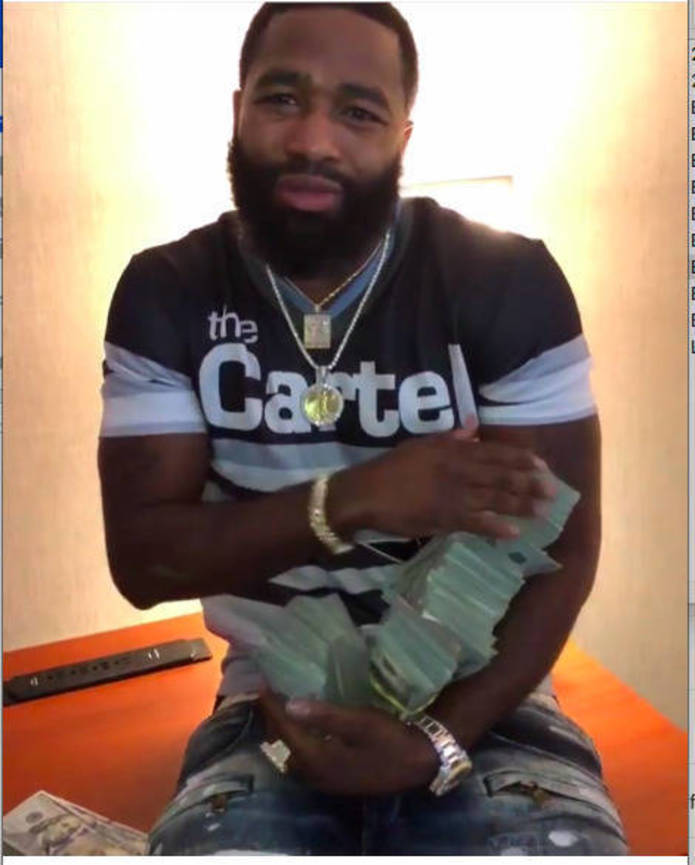 Boxer Adrien Broner remanded for seven days in Cuyahoga County Jail for probation violation
