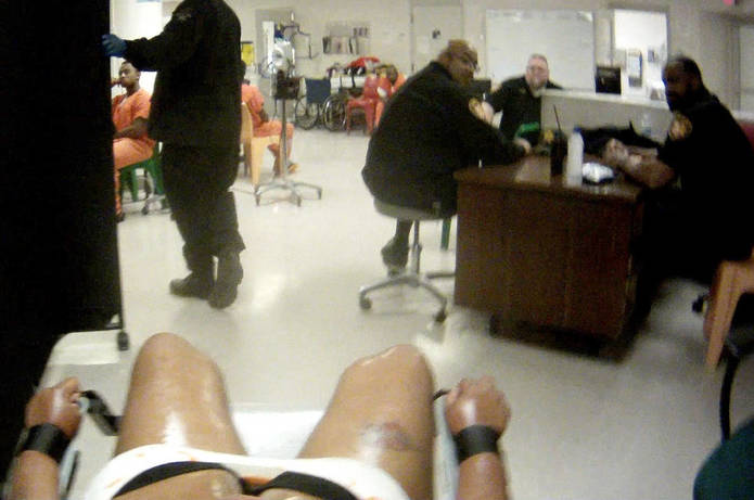Victim sues Cuyahoga County and jail officers for torture and suffering caught on video