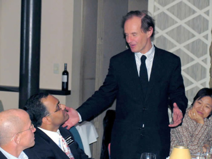 A generous toast to Subodh Chandra from distinguished lawyer David Boies